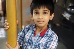Retrato de Little Boy indio Fotos de archivo