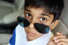 Retrato de Little Boy indio Fotografía de archivo