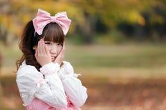 Retrato de Lolita Imagenes de archivo