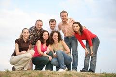 Retrato de los amigos imagen de archivo