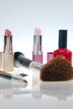 Retrato de los cosméticos fotografía de archivo