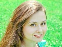 Retrato de los jóvenes hermosos w0man Imagen de archivo