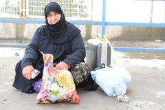 Retrato de los refugiados sirios que viven en Turquía Imagenes de archivo