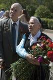 Retrato de los veteranos de guerra Fotos de archivo