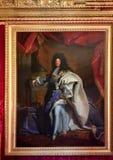Retrato de Louis XIV fotografía de archivo libre de regalías