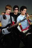 Retrato de músicos novos Fotos de Stock Royalty Free