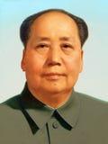 Retrato de Mao Zedong Foto de Stock