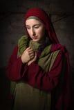 Retrato de Mary de Magdalene fotografia de stock royalty free
