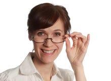 Retrato de meia idade da mulher Imagem de Stock