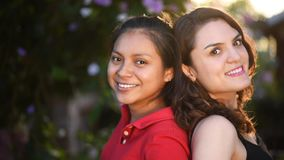 Retrato de meninas latino-americanos video estoque