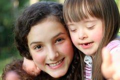 Retrato de muchachas Fotos de archivo libres de regalías