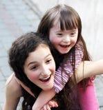Retrato de muchachas Fotos de archivo