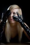 Retrato de mulher nova Fotos de Stock