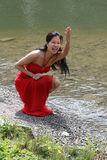 Retrato de mulheres novas Imagem de Stock