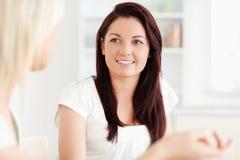 Retrato de mulheres novas Fotos de Stock