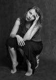 Retrato de Natalia Foto de archivo