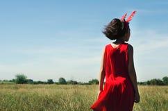 Retrato de niños asiáticos en el al aire libre Foto de archivo