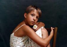 Retrato de Olga - 6 Fotografía de archivo