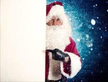 Retrato de Papá Noel Fotos de archivo libres de regalías