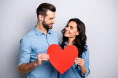 Retrato de parecer aislado estudiantes casados alegres sinceros queridos agradables soñador confiando en el respeto gozando del 1 fotografía de archivo libre de regalías
