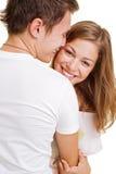 Retrato de pares felices Fotos de archivo libres de regalías
