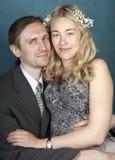 Retrato de pares felizes Imagem de Stock Royalty Free