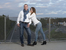 Retrato de pares novos Fotos de Stock