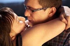 Retrato de pares românticos Foto de Stock Royalty Free