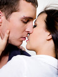 Retrato de pares sexuais bonitos imagens de stock royalty free