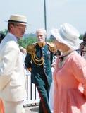 Retrato de povos da dança em trajes históricos fotografia de stock