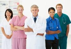 Retrato de profesionales médicos Foto de archivo libre de regalías