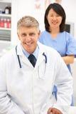 Retrato de profissionais médicos Fotos de Stock