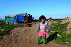 Retrato de refugiados Foto de archivo