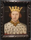Retrato de rey Richard II imagen de archivo