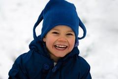 Retrato de riso da criança Imagem de Stock Royalty Free