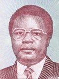 Retrato de Samuel Doe fotos de archivo