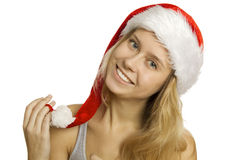 Retrato de Santa Imagem de Stock Royalty Free