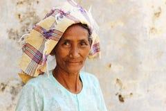 Retrato de Shan Woman Fotografia de Stock