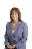 Retrato de sorriso da mulher de negócios Fotografia de Stock