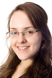 Retrato de sorriso do business-woman Imagens de Stock Royalty Free