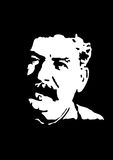 Retrato de Stalin Imagem de Stock Royalty Free