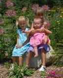Retrato de três irmãs Fotografia de Stock Royalty Free