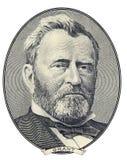 Retrato de Ulises S. Grant Imagen de archivo libre de regalías