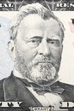 Retrato de Ulysses Grant em cinqüênta dólares Fotos de Stock Royalty Free