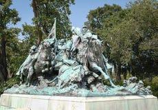 Retrato de Ulysses S Grant Memorail Foto de Stock Royalty Free