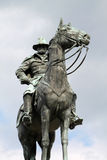 Retrato de Ulysses S Washington DC do monumento de Grant Memorial Fotografia de Stock