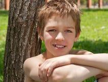 Retrato de um adolescente. Imagem de Stock Royalty Free