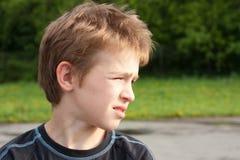 Retrato de um adolescente. Imagem de Stock