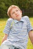 Retrato de um adolescente. Imagens de Stock Royalty Free