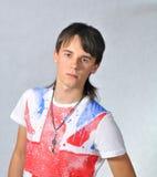 Retrato de um adolescente Fotos de Stock